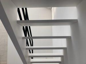 筆者自邸階段
